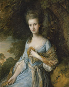 Retrato de Sarah Buxton, Thomas Gainsborough