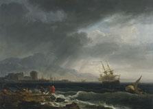 Mar tempestuoso, Claude-Joseph Vernet