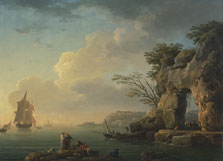 A calm Sea, Claude-Joseph Vernet