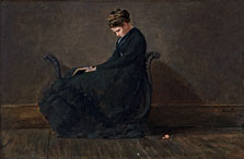 Portrait of Helena de Kay, Winslow Homer