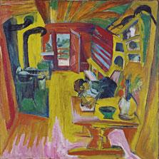 Alpine Kitchen, Ernst Ludwig Kirchner