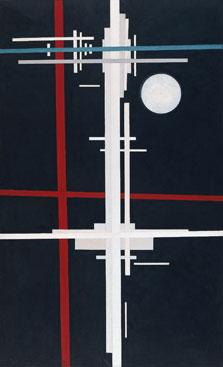 Composición suprematista, Ilyá Chashnik