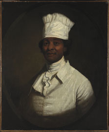 Retrato del cocinero de George Washington, Gilbert Stuart