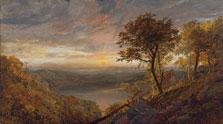 El lago de Greenwood, Jasper Francis Cropsey