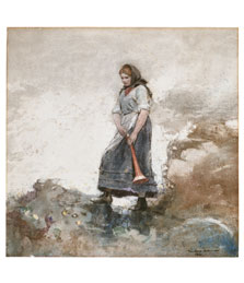 Daughter of the Coast Guard, Winslow Homer