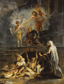 Saint Roch as Patron of the Plague Victims, Workshop of Rubens