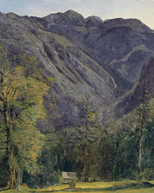 The Schönberg seen from Hoisernradalpe, Ferdinand Georg Waldmüller