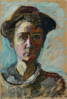 Self-Portrait, Gabriele Münter
