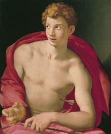 Saint Sebastian,  Bronzino (Agnolo di Cosimo di Mariano)