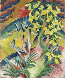La cala, Ernst Ludwig Kirchner