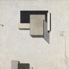 Proun 1 C, El Lissitzky