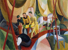 Circus, August Macke