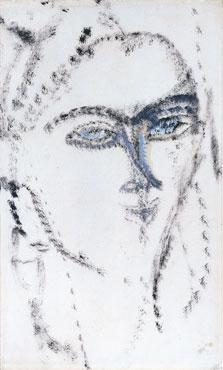 Cabeza de mujer. ¿Kiki?, Amedeo Modigliani