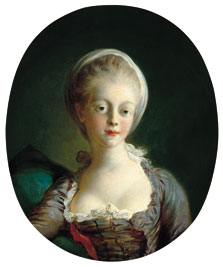 Portrait of a Young Lady, Jean-Honoré Fragonard