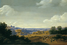Plantation Settlement in Brazil, Frans Jansz. Post