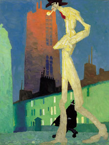 The White Man, Lyonel Feininger
