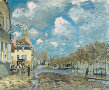 Flood at Port-Marly, Alfred Sisley