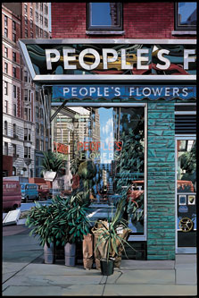 People's Flowers, Richard Estes
