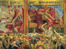 Smoko, el volcán humano, Reginald Marsh