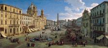 Piazza Navona, Rome, Gaspar van Wittel