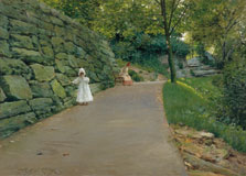 In the Park (A By-path), William Merritt Chase