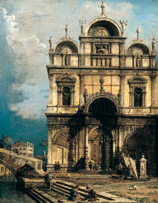 The School of San Marco,  Canaletto