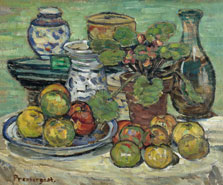 Still Life with Apples, Maurice Prendergast