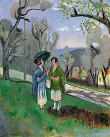 Conversation under the Olive Trees, Henri Matisse