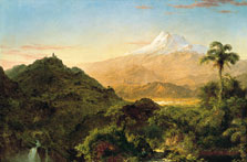 South American Landscape, Frederic Edwin Church