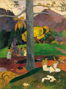 Mata Mua (In Olden Times), Paul Gauguin