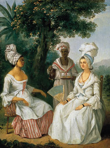 Creole Woman and Servants, Agostino Brunias