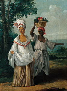 Two Caribbean Women returning from the Market, Agostino Brunias
