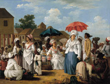 The Linen Market, Santo Domingo, Agostino Brunias