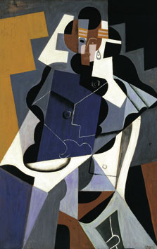 Seated Woman, Juan Gris