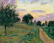 Road at Damiette, Armand Guillaumin