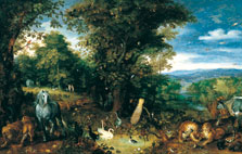 The Garden of Eden, Jan Brueghel I