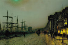 Canny Glasgow, Atkinson Grimshaw