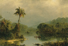 Paisaje tropical, Frederic Edwin Church