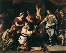 El juicio de Salomón, Luca Giordano