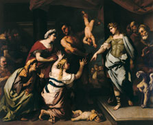 The Judgement of Solomon, Luca Giordano