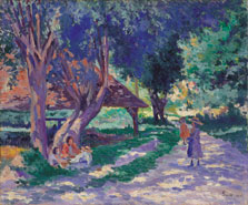 Bessy, Yonne, the Shaded Path, Maximilien Luce