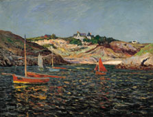 Entrance to the Port on Port-Goulphar, Belle-Île-en-Mer, Maxime Maufra