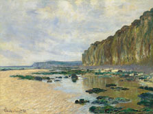 Low Tide at Varengeville, Claude Monet