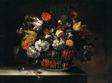 Basket of Flowers, Jean-Baptiste Monnoyer