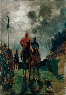 The Jockeys, Henri de Toulouse-Lautrec