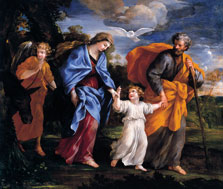 Return from the Flight into Egypt,  Giovanni Francesco Romanelli