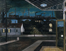 The Viaduct, Paul Delvaux