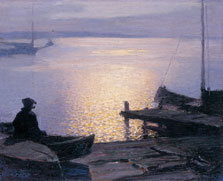 Along the Mystic River, Edward Henry Potthast