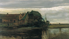 Watermill at Gennep, Vincent van Gogh