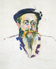 Portrait of Dr. Piraz  (verso), Robert Delaunay